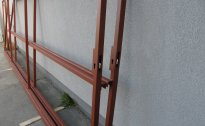 Brama pod panel